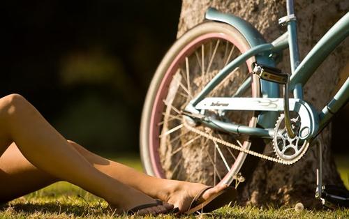 Gambe e bici