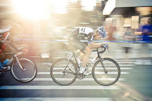 Ciclista della Garmin