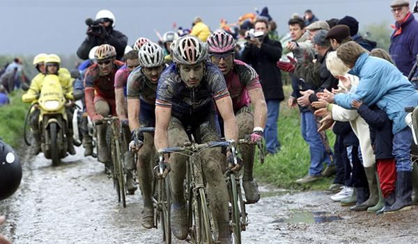 George Hincapie alla Parigi-Roubaix