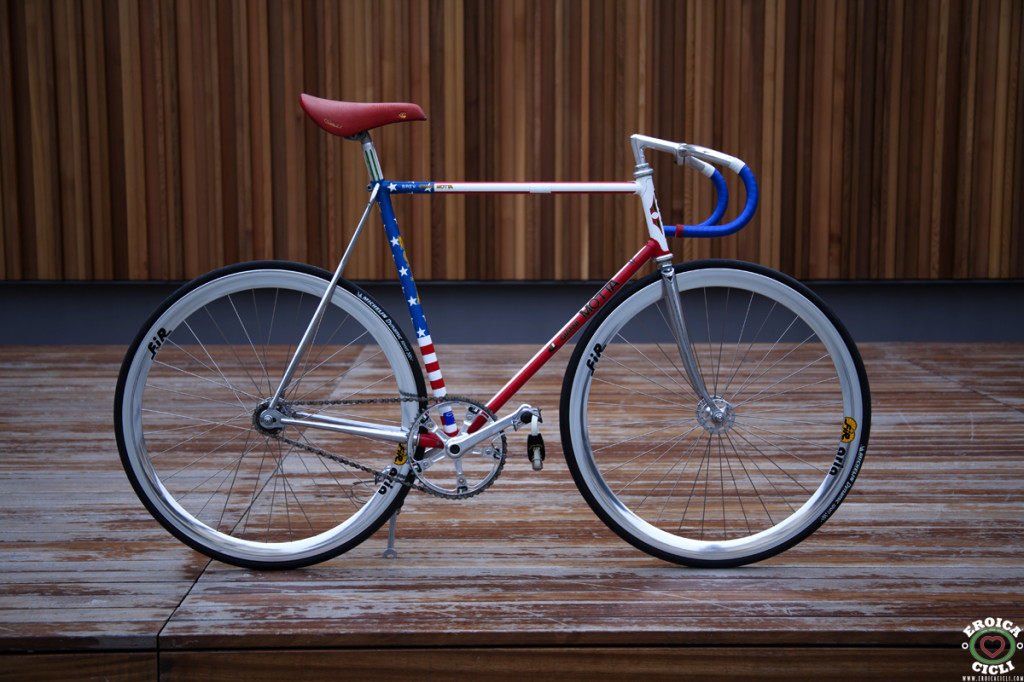 Gianni Motta track bike