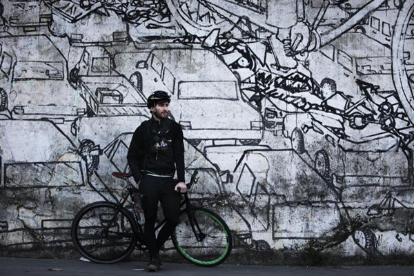 Giorgio bike messenger