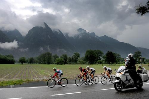 Il Giro d'Itaia verso Macugnaga