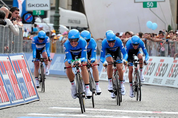 Team Garmin-Barracuda al Giro d'Italia