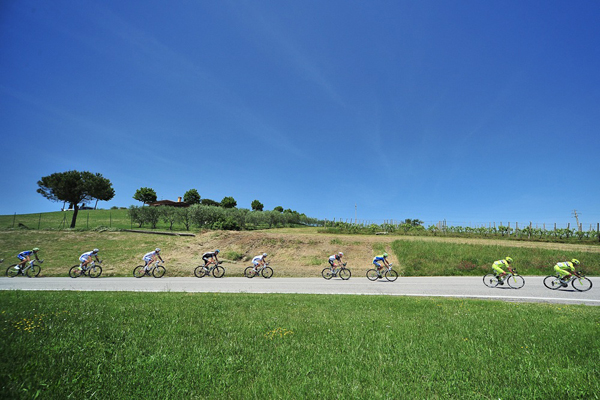 La campagna italiana al Giro 2012