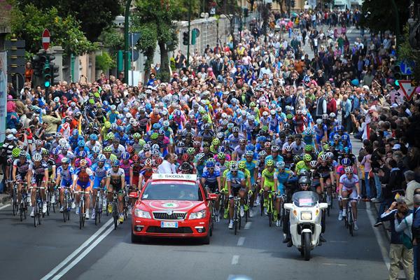 Il Giro d'Italia a Savona