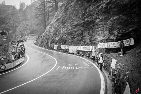 Le strade del Giro d'Italia