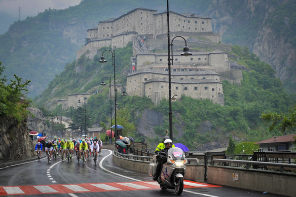 Il Giro d'Italia in Valle d'Aosta