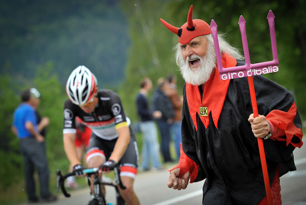 El Diablo al Giro 2012