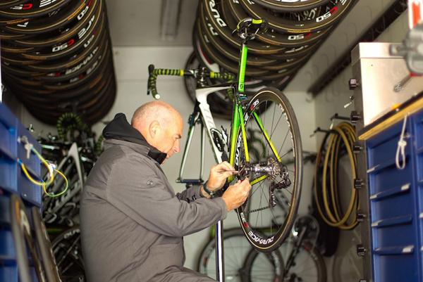 Come si prepara una bici per il Giro d'Italia