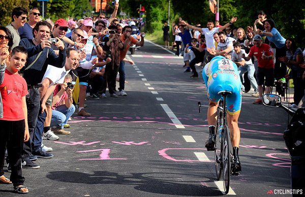 Nibali a cronometro al Giro 2013