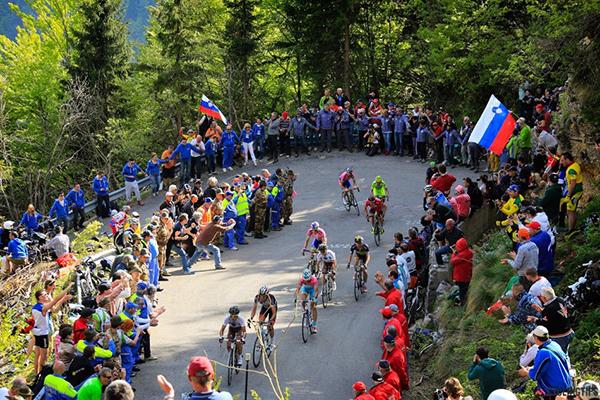Il Giro d'Italia 2013 sull'Altopiano del Montasio
