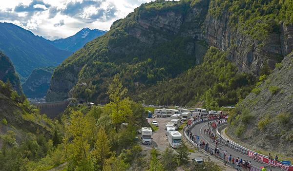 Il Giro e la diga del Vajont