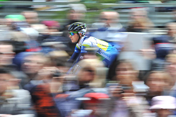 Il passaggio del Giro d'Italia