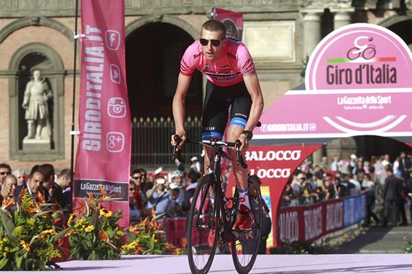 Ryder Hesjedal al Giro 2013