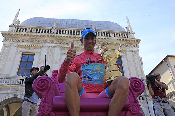 Nibali vince il Giro d'Italia 2013