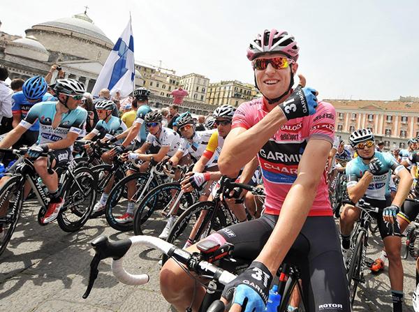 La partenza del Giro 2013