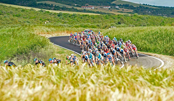 I colori della Basilicata al Giro 2013