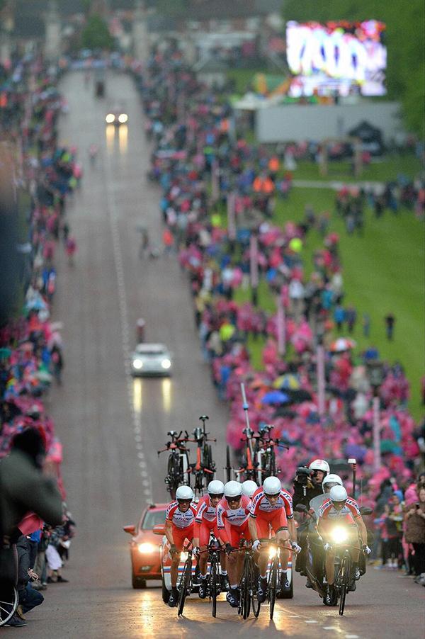 La cronometro a squadre di Belfast al Giro 2014