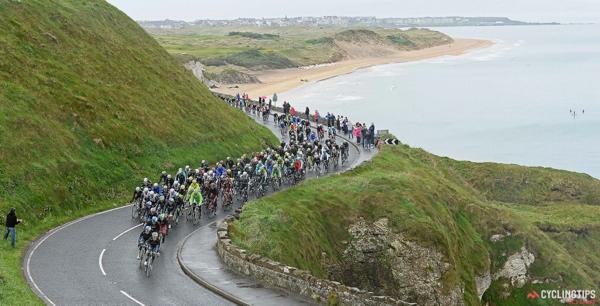 Le strade d'Irlanda al Giro 2014