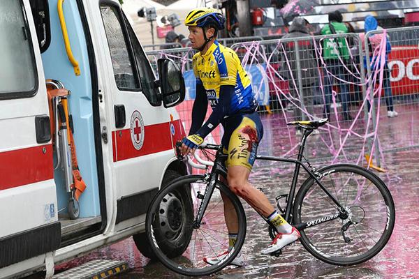 Nicolas Roche al Giro d'Italia 2014