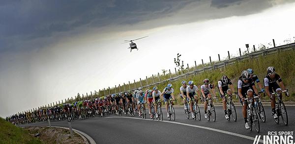 Pioggia al Giro 2014