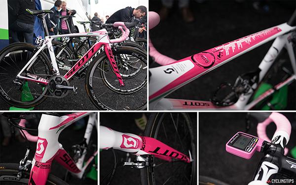 Bici Scott al Giro d'Italia 2014