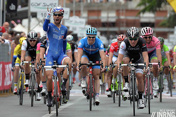 Nacer Bouhanni al Giro d'Italia 2014