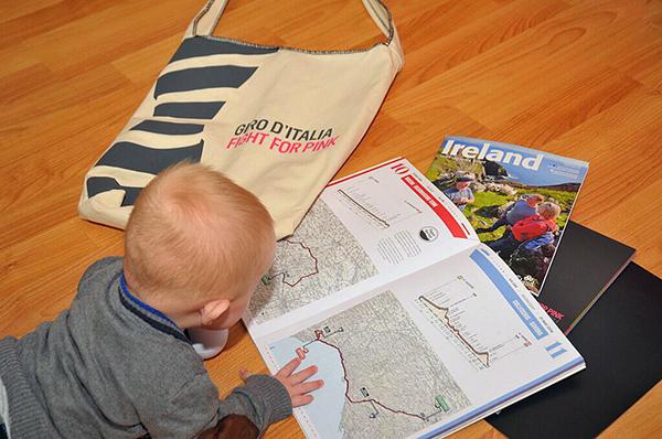 Studiare il percorso del Giro d'Italia 2014