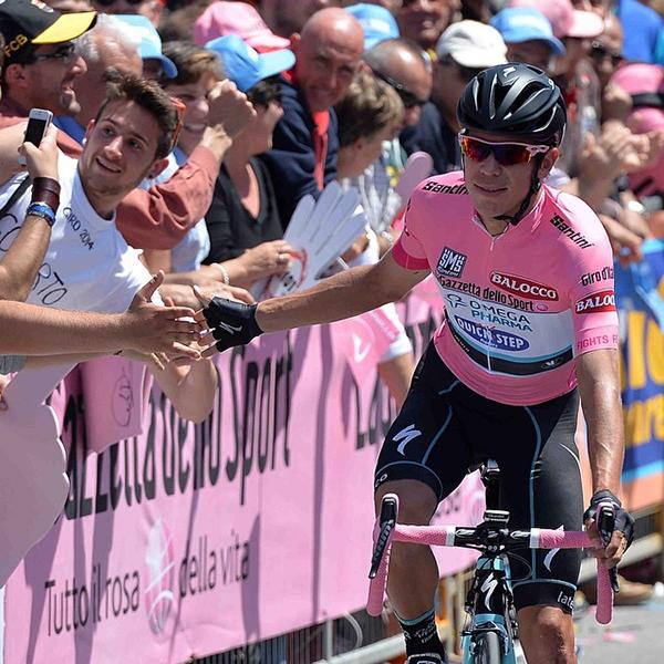 Uran in rosa al Giro 2014