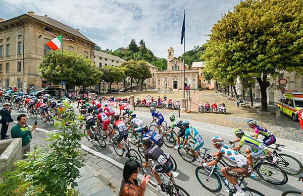 Il Giro d'Italia 2014 e il Santuario di Savona