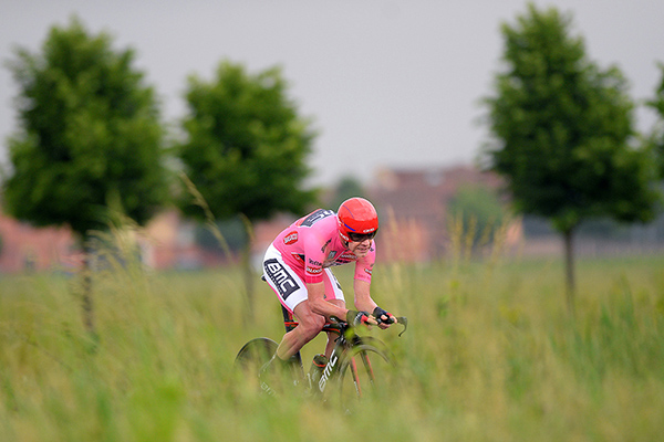 Cadel Evans a cronometro al Giro 2014