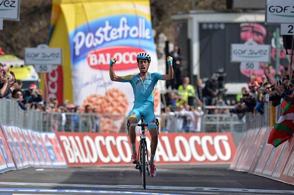 La zampata di Fabio Aru al Giro 2014