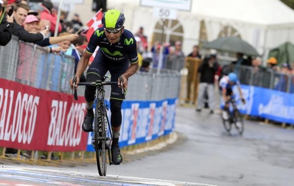 Nairo Quintana al Giro d'Italia 2014