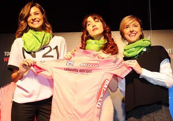 Le maglie del Giro d'Italia 2014