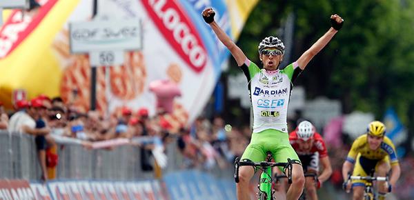 Stefano Pirazzi al Giro 2014