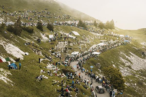 Il Giro d'Italia 2014 sulle Alpi
