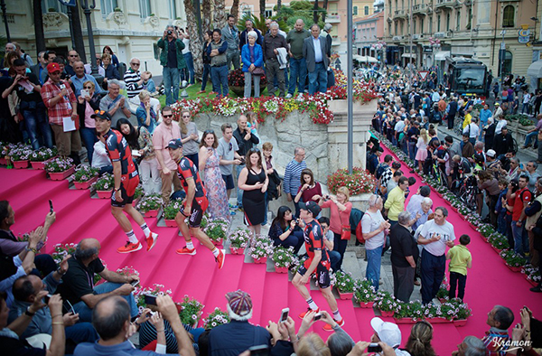 Il Giro 2015 a Sanremo