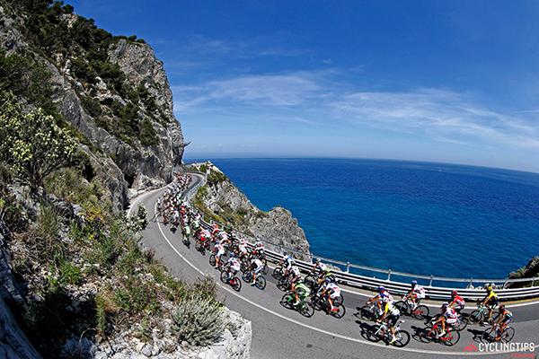Il Giro 2015 al Malpasso in direzione Noli