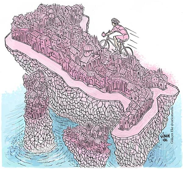 Lo scoglio del Giro d'Italia