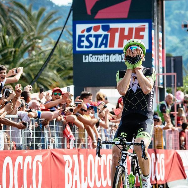 Davide Formolo al Giro d'Italia 2015
