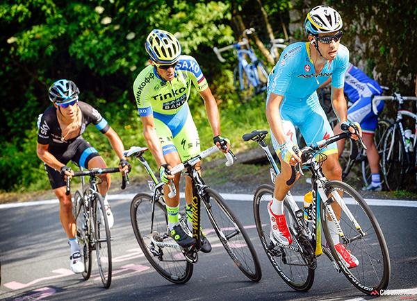 Porte, Contador e Aru al Giro 2015