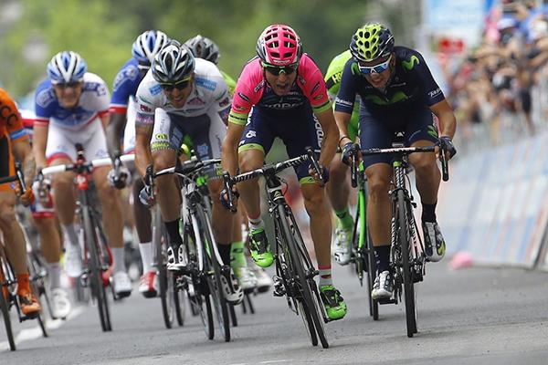 La volata di Diego Ulissi al Giro 2015