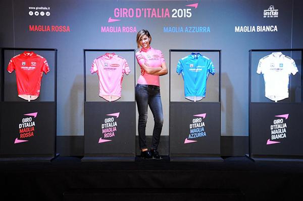 Le maglie del Giro d'Italia 2015