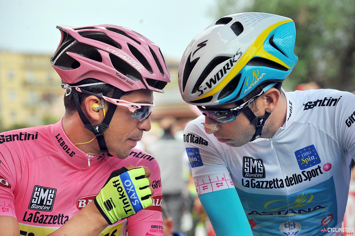 Contador e Aru al Giro d'Italia 2015