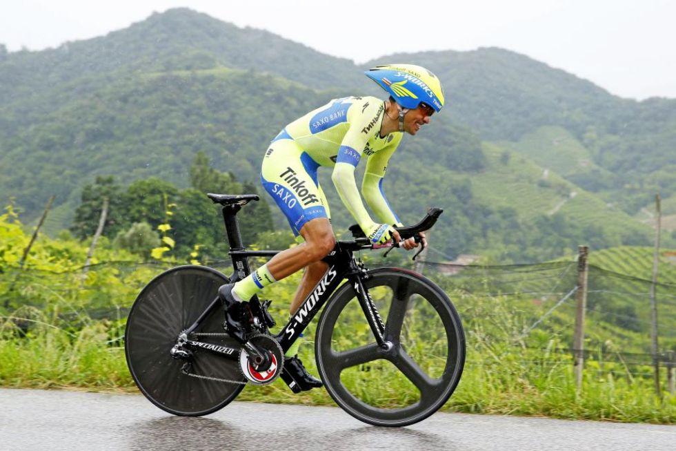 Contador a cronometro al Giro 2015