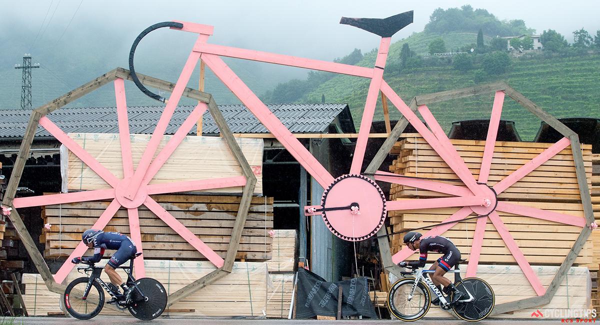 Cronometro al Giro d'Italia 2015