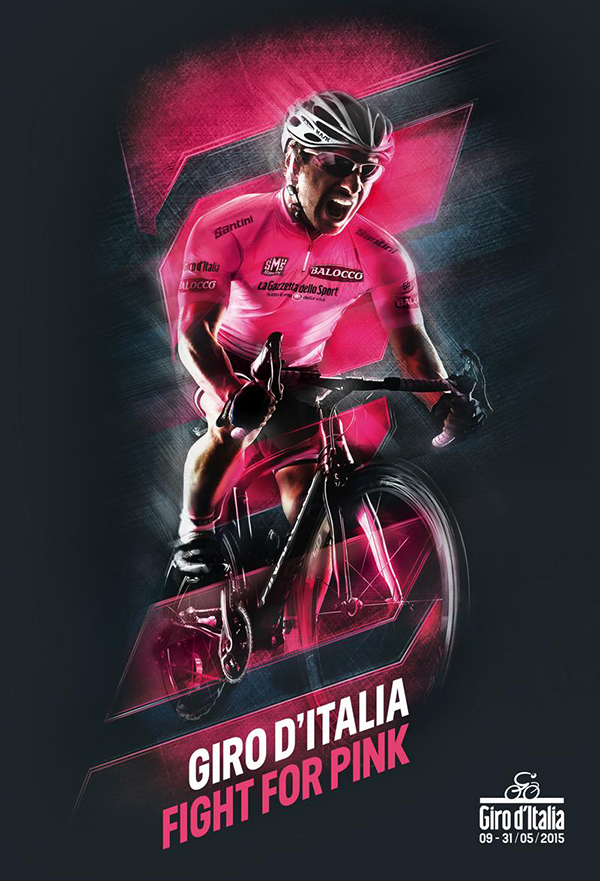 Poster Giro d'Italia 2015