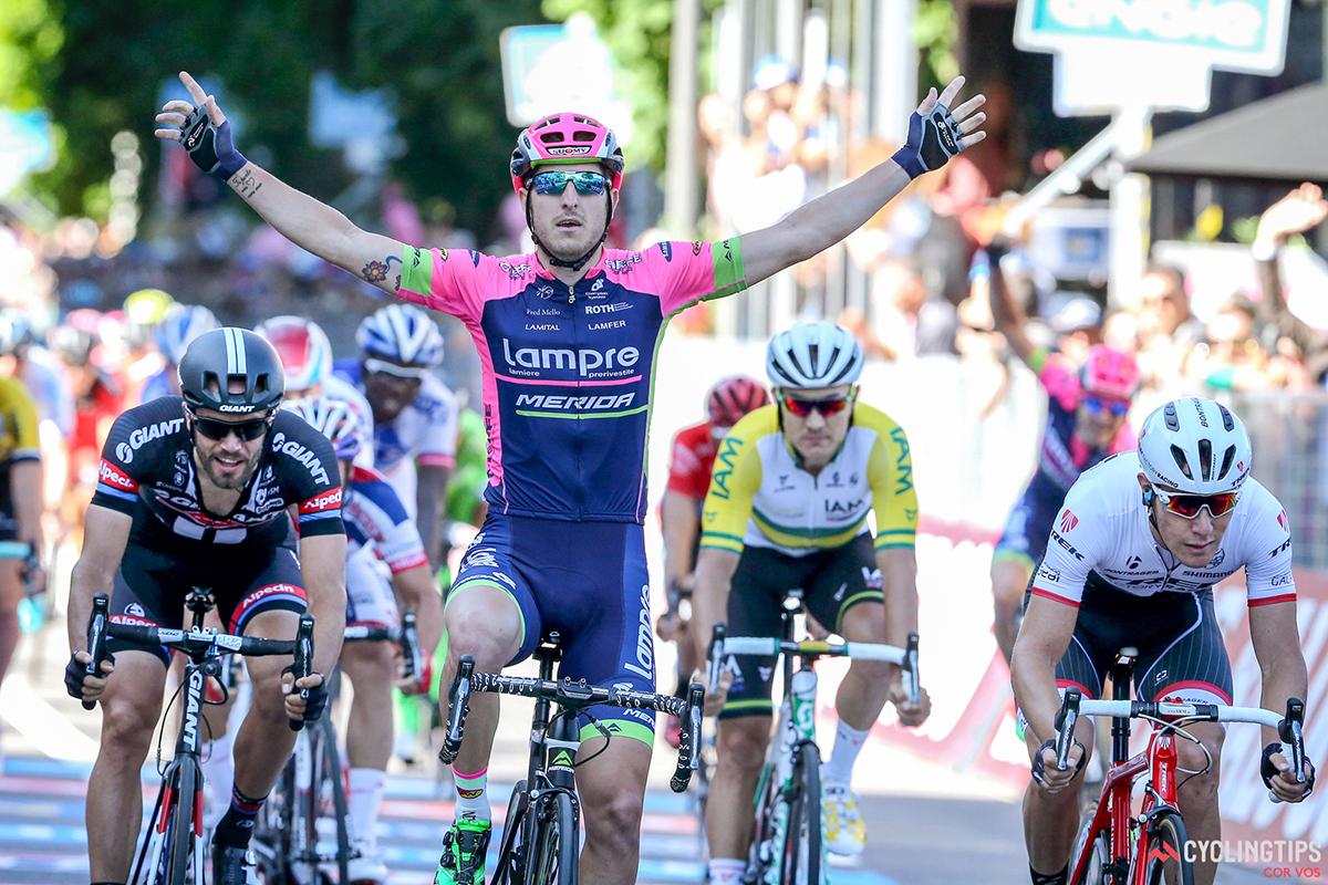 Sacha Modolo al Giro d'Italia 2015
