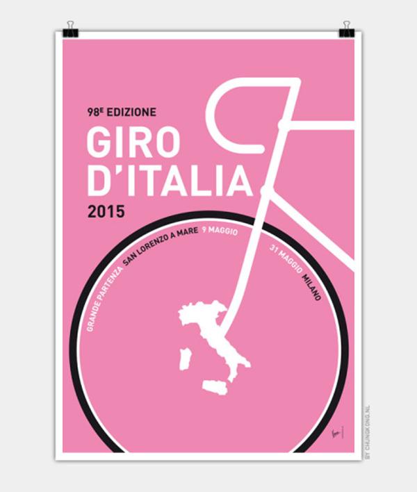 Poster del Giro d'Italia 2015