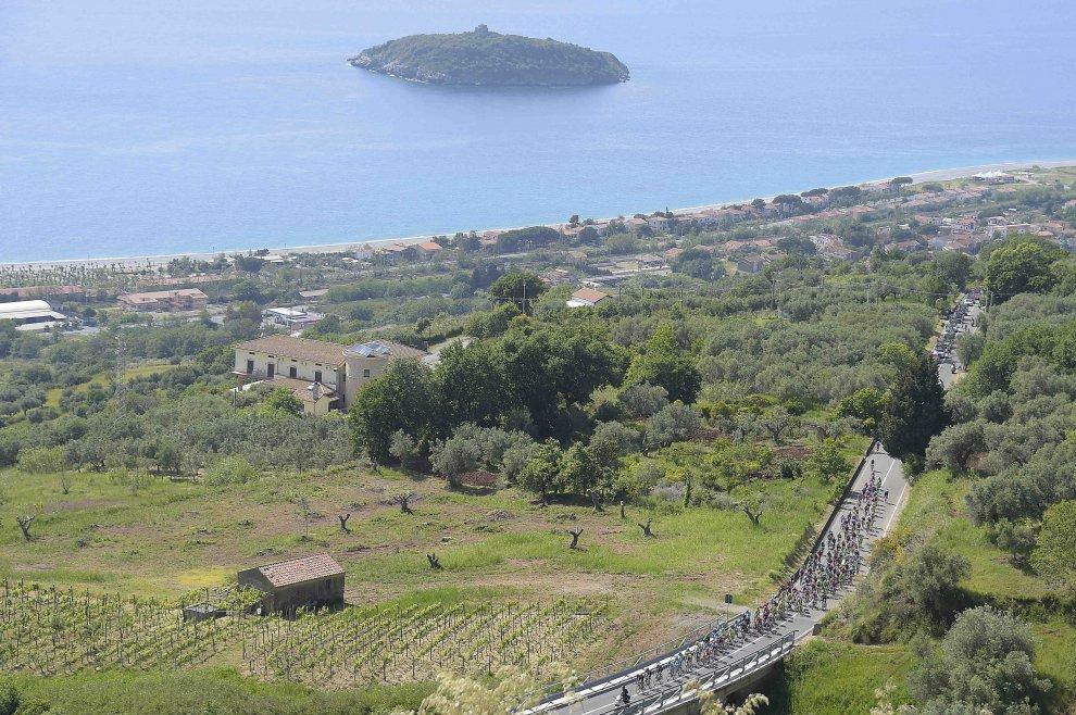 Il Giro 2016 nel sud Italia
